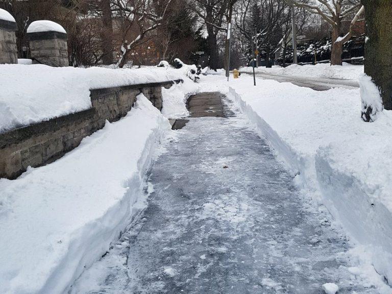 Snow Removal at Tenanted Properties